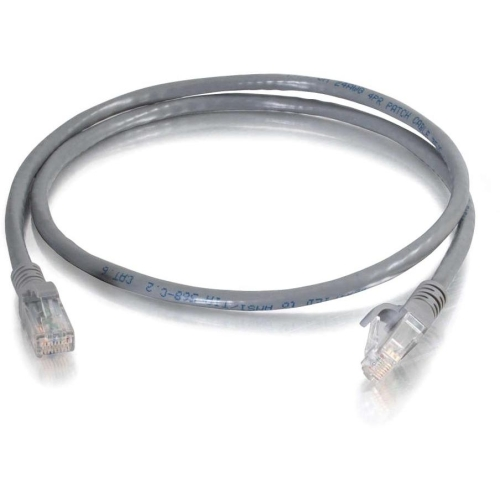C2G 10306 C2G 14 ft Cat6 Snagless Unshielded (UTP) Network Patch Cable (TAA) - Gray - Category 6 for Network Device - RJ-45 Male - RJ-45 Male -TAA Compliant - 14ft - Gray