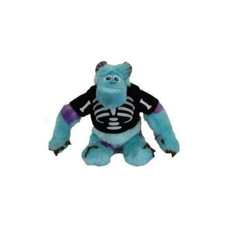 Monsters University Sulley in Halloween Skeleton Shirt 6 Plush Toy - Disney/Pixar Monsters Inc