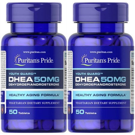 Puritan's Pride DHEA 50mg 50 Tablets Build Muscle Burn Fat Weight Loss 2 PACK FREE (Best Steroid For Weight Loss And Muscle Gain)