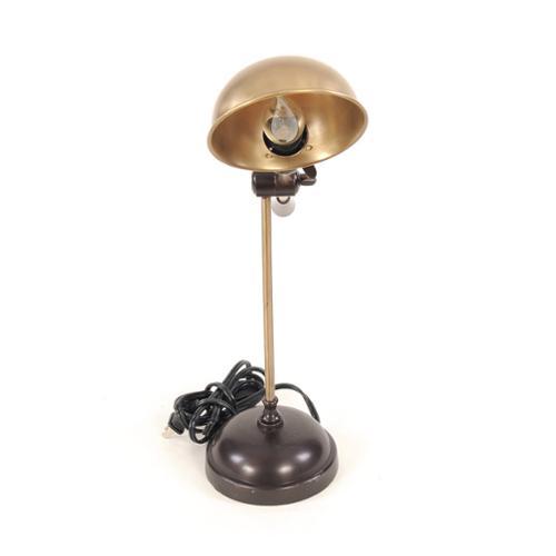 Old Modern Handicrafts Vintage-inspired Bronze-tone Brass Lamp by Overstock
