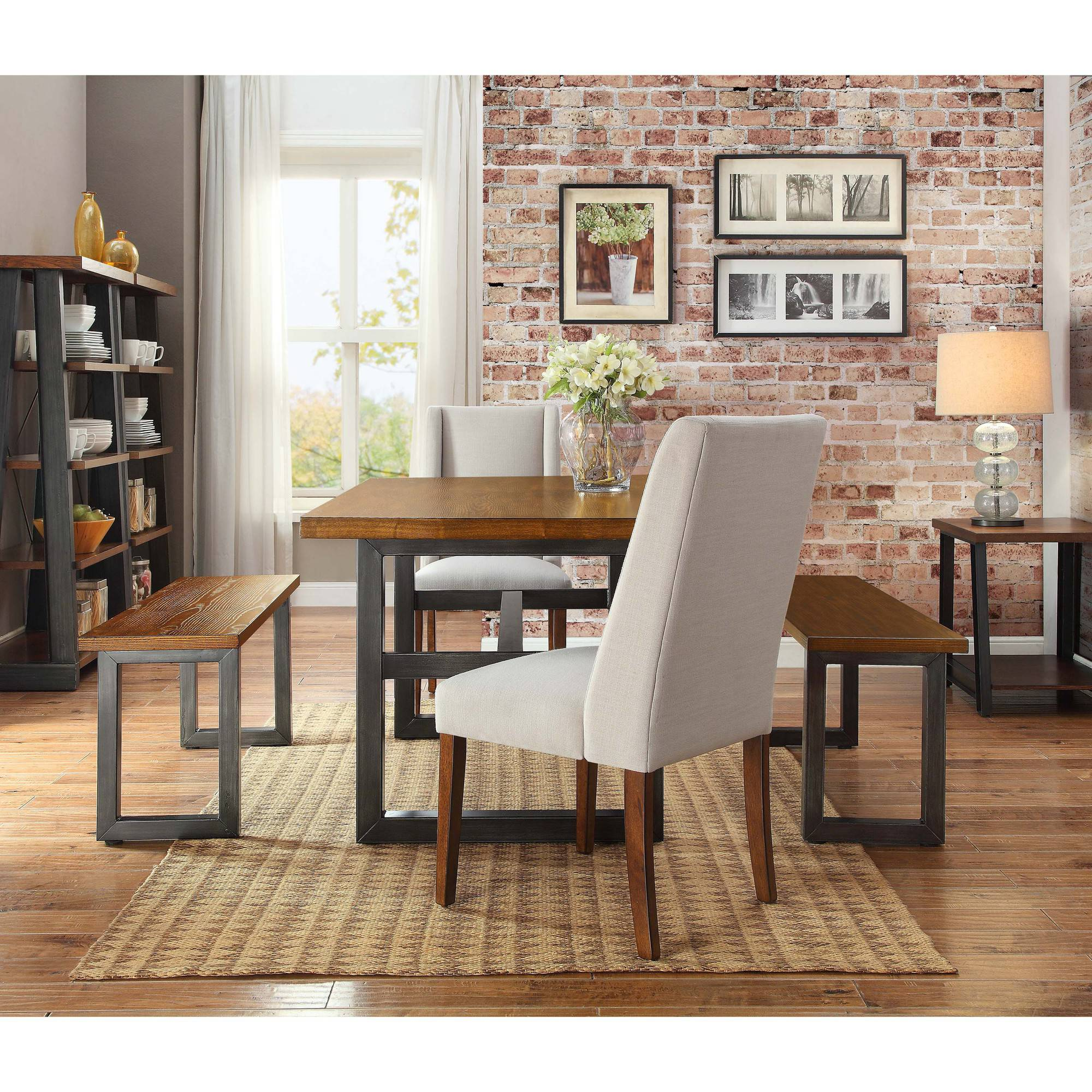 Better Home And Garden chic idea better home and gardens plain design april 2015 Better Homes And Gardens Mercer Dining Table Vintage Oak Finish Walmartcom