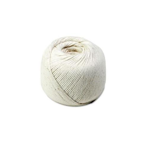 QUALITY PARK PRODUCTS All-Purpose Twine, Cotton, 10-Ply, 475' Ball, White