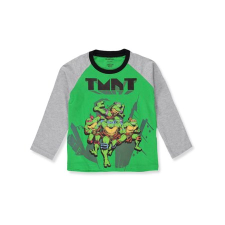TMNT Boys' L/S T-Shirt - Large Ninja Turtle