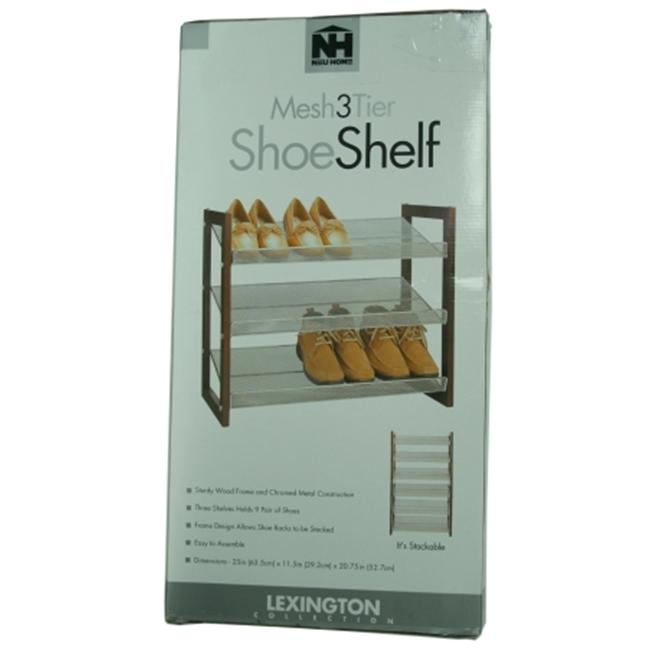 Organize It All 3 Tier Shoe Shelf  17053