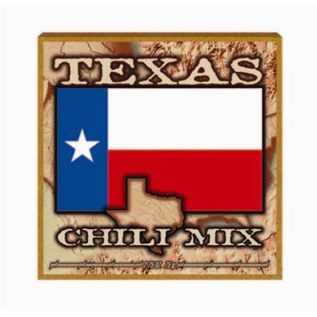 Hot Sauce Harrys HSH8053 TEXAS FLAG Championship CHILI MIX - 2.75oz