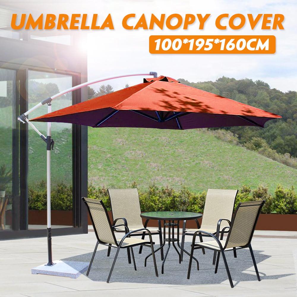 39 Quot 78 Quot 63 Quot Patio Garden Outdoor Umbrella Top Canopy