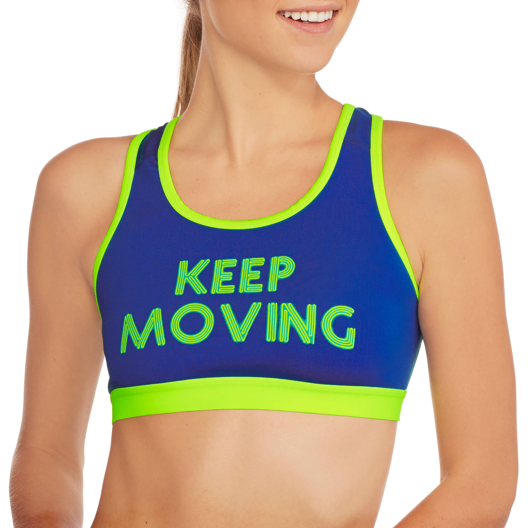 Danskin Now Women's Fitspiration Light Impact Sports Bra