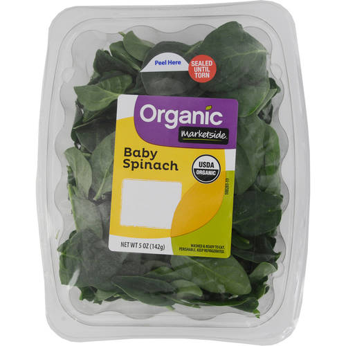 Marketside Organic Baby Spinach Salad, 5 oz