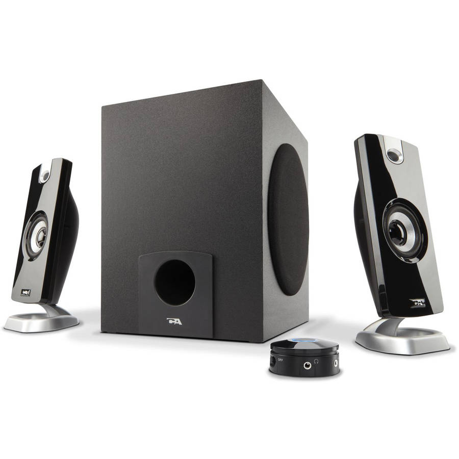 Cyber Acoustics 3-Piece Multimedia Speaker System
