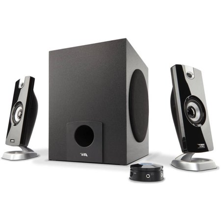 Cyber Acoustics 3-Piece Multimedia Speaker System