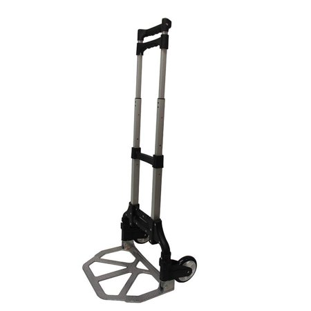 Jet Adjustable Trolley (Aluminum Folding Luggage Cart Trolley Hand Truck Adjustable Heavy Duty Light Weight Plastic Wheels 150LB)