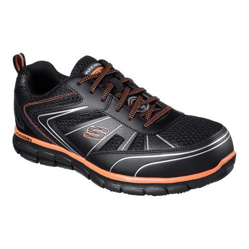 Men's Skechers Work Synergy Fosston Alloy Toe Sneaker by Skechers
