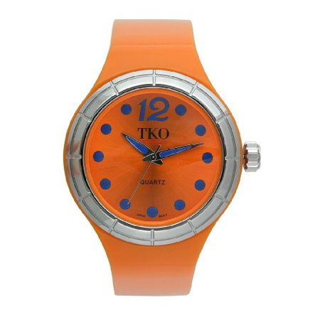 TKO ORLOGI Women's TK531-OR Candy Collection Fun Colorful Rubber Watch