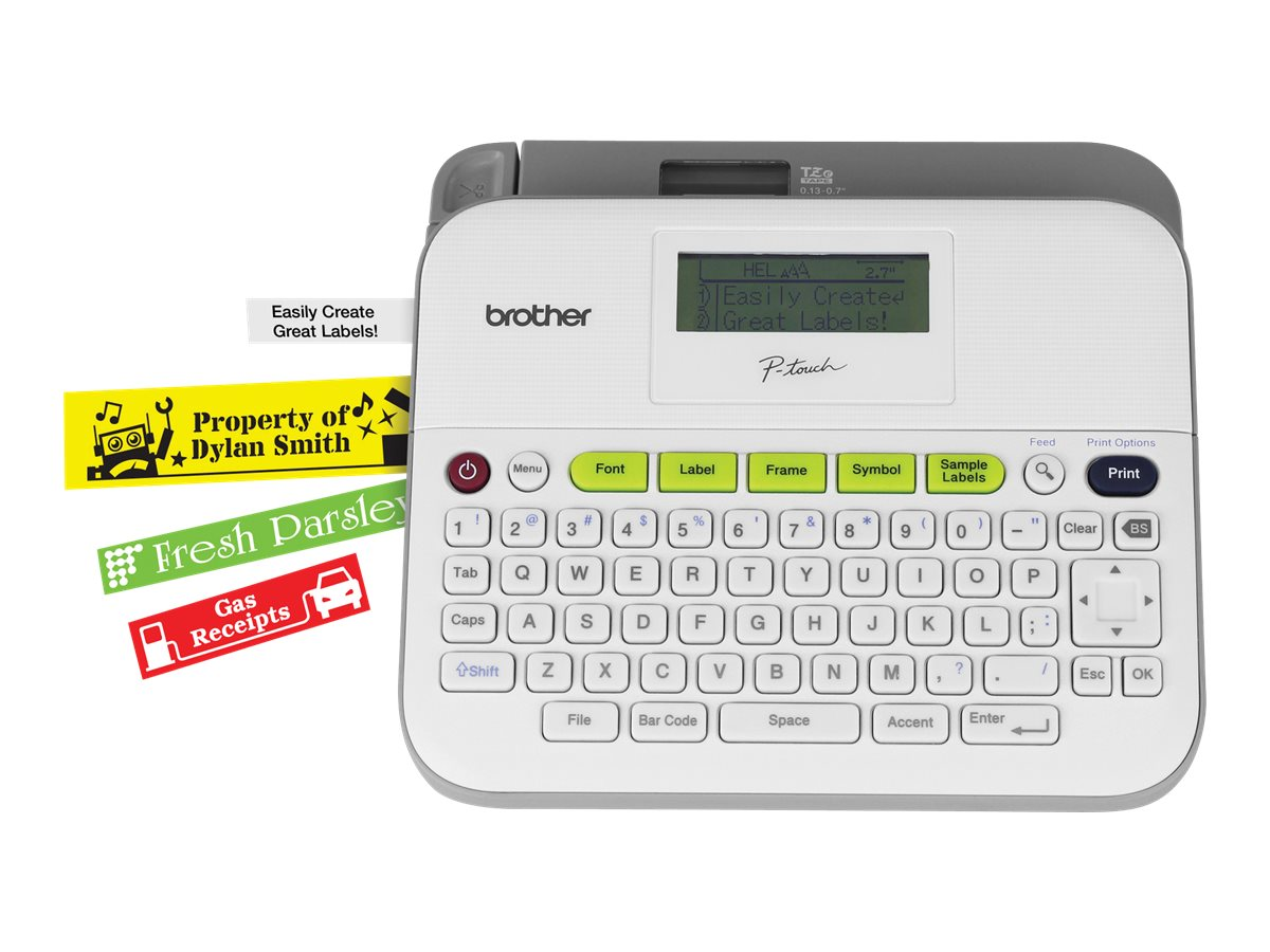 Brother P Touch Pt D400 Labelmaker Monochrome Thermal Transfer