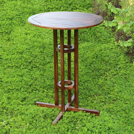 Bar-Height Round Patio Table - Walmart.com