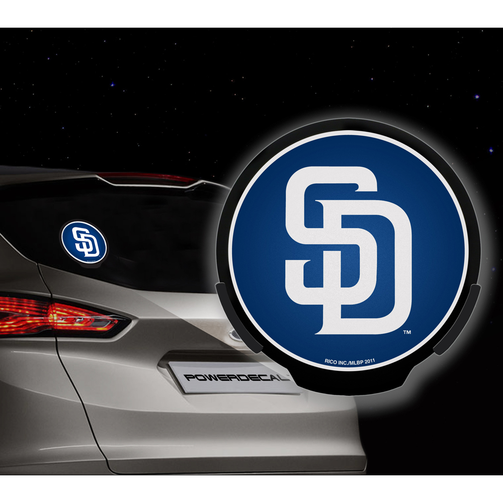 San Diego Padres MLB Power Decal