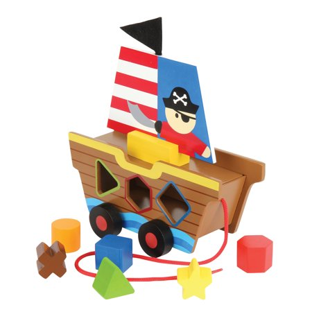 Shaped Sorters, Pirate (Pirate Coin Purse)