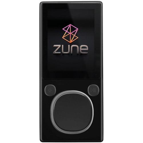 Microsoft Refurbished Zune 8GB MP3 Player, Black, HXA-00001