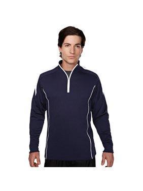Tri-Mountain Men's Contrast Panels Mesh Pullover Shirt