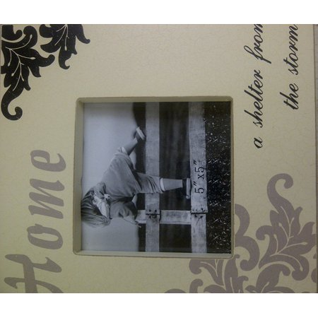 Home ( a Shelter From the Storm) 5*5 Photo Frame, 5*5 photo frame By Pans craft design factory From -