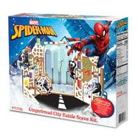 Spiderman Gingerbread House Battle Scene Kit