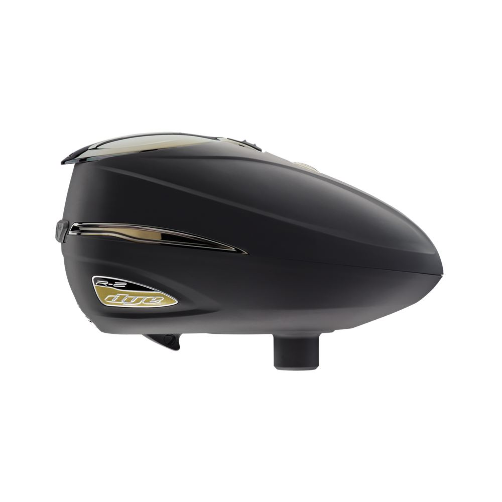 a9560e17f2e3df Dye Rotor R2 Electronic Paintball Loader Hopper - Black Gold - Walmart.com