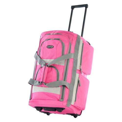 """Olympia USA 22"""" 8 Pocket Rolling Duffel by Luggage America"""