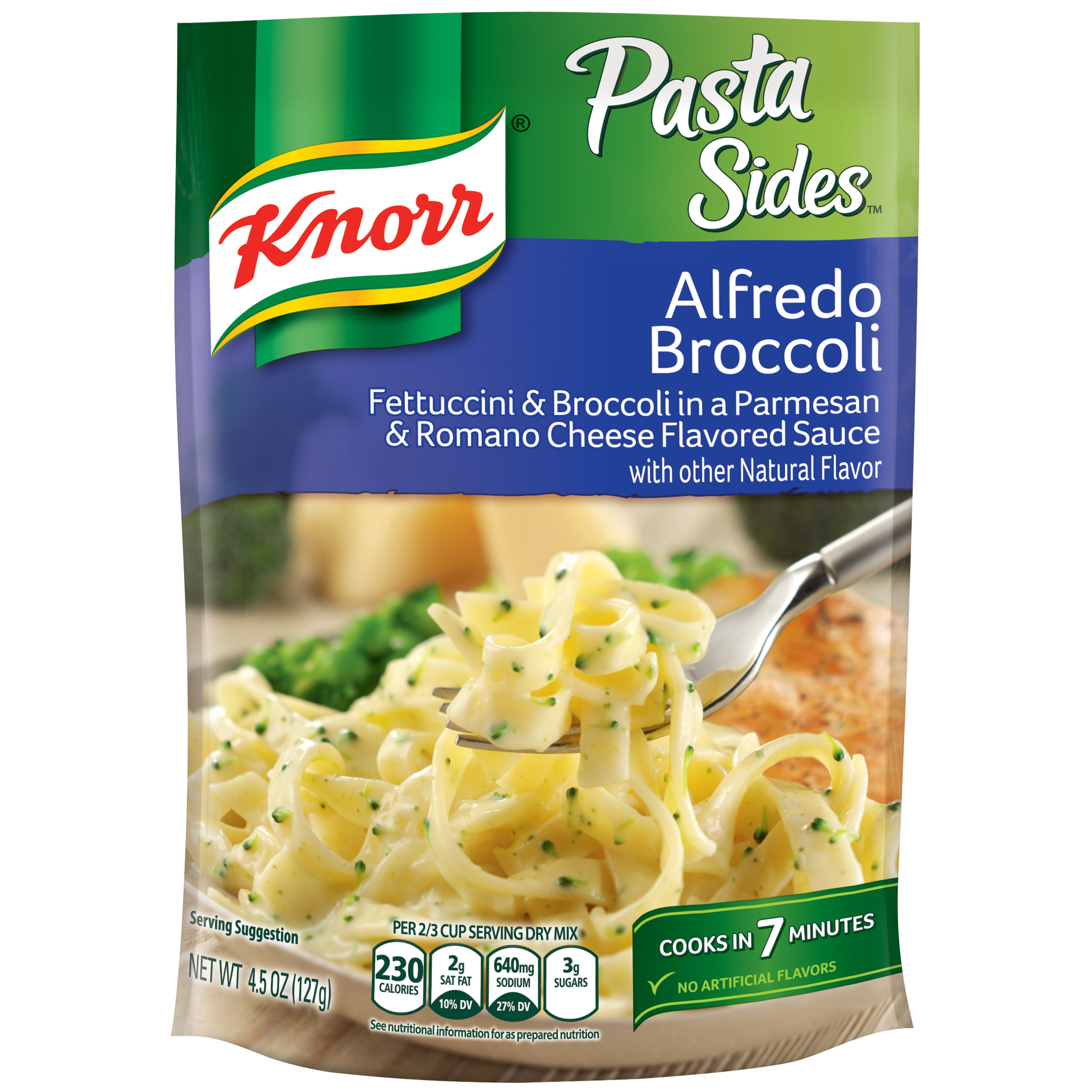 Knorr Alfredo Broccoli Pasta Side Dish 4.5 oz