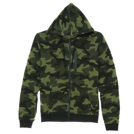 WT02 Men's Bonded Full Zipper Fleece Hoodie Sweatshirt