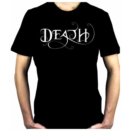 Death Being the End Men's T-Shirt Gothic Gothic Occult Clothing