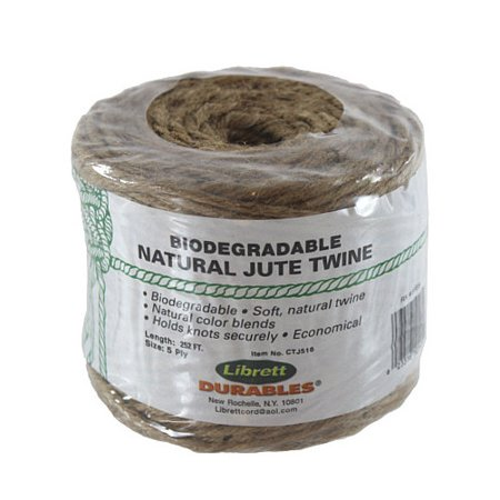 252' Biodegradable 5-Ply Natural Jute - Natural Jute Twine