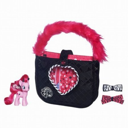(Exclusive My Little Pony Pinkie Pies Boutique Fabulous Purse Set [Toy] [Toy] by, My Little Pony Pinkie Pie's Boutique Pink & Fabulous Purse)