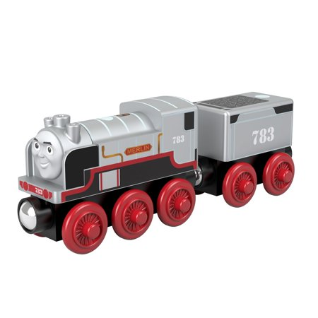 Thomas The Train Centerpieces (Thomas & Friends Wood Merlin the Invisible Wooden Steam Engine)