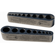 """V-Tap Guide Standard Sizes 0-80 To 5/8"""""""
