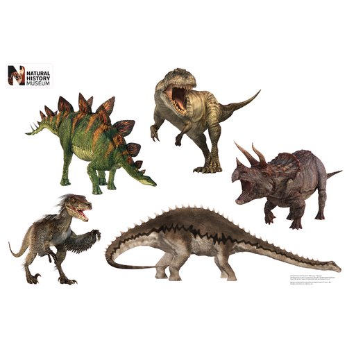 Advanced Graphics Dinosaur Group Layout Wall Decal by Advanced Graphics