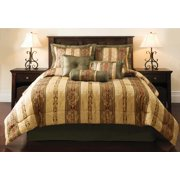 Mainstays Dakota 7-Piece Bedding Comforter Set