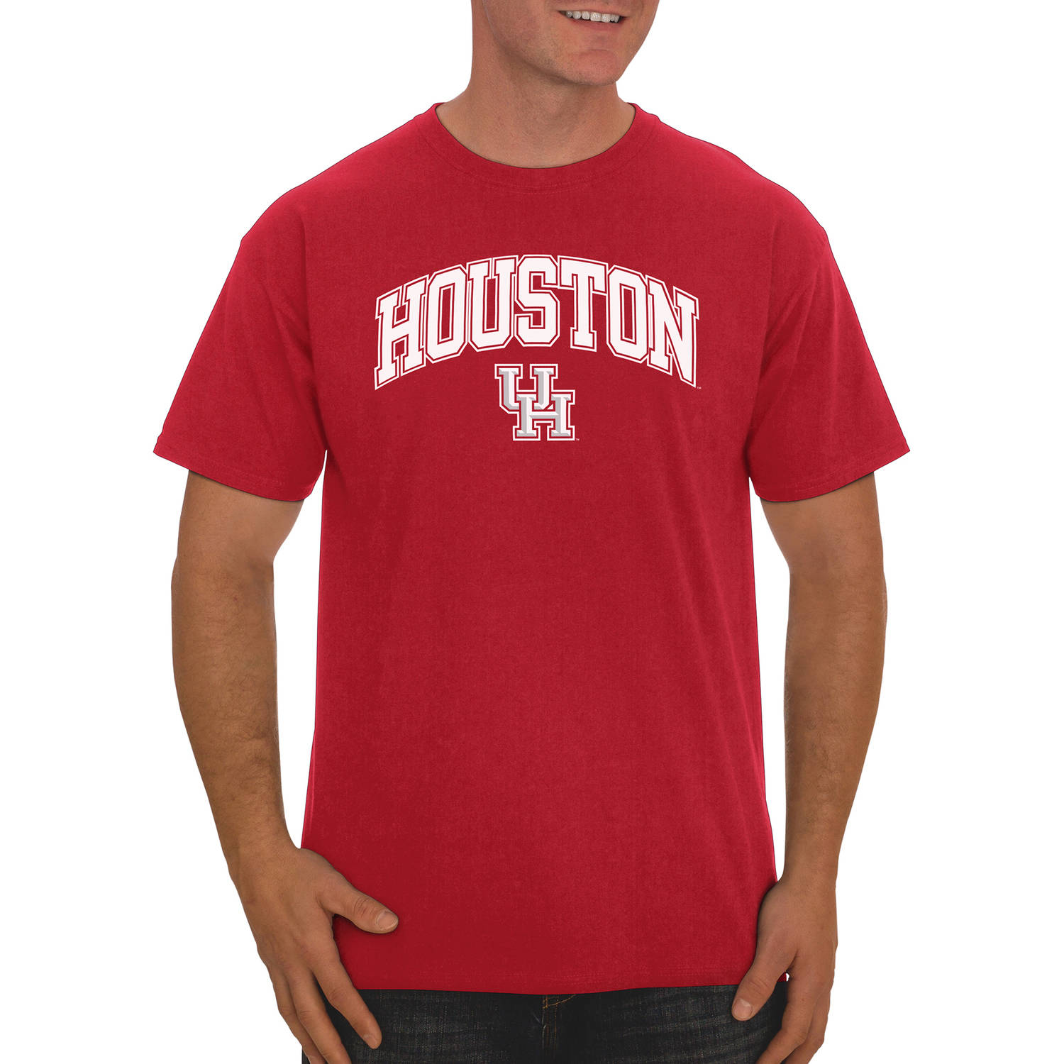 NCAA Houston Cougars  Men's Classic Cotton T-Shirt