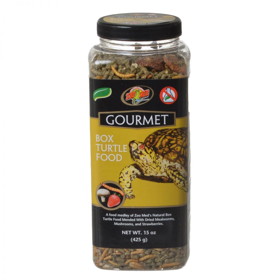 Zoo Med Gourmet Box Turtle Food 15 oz Pack of 12 by