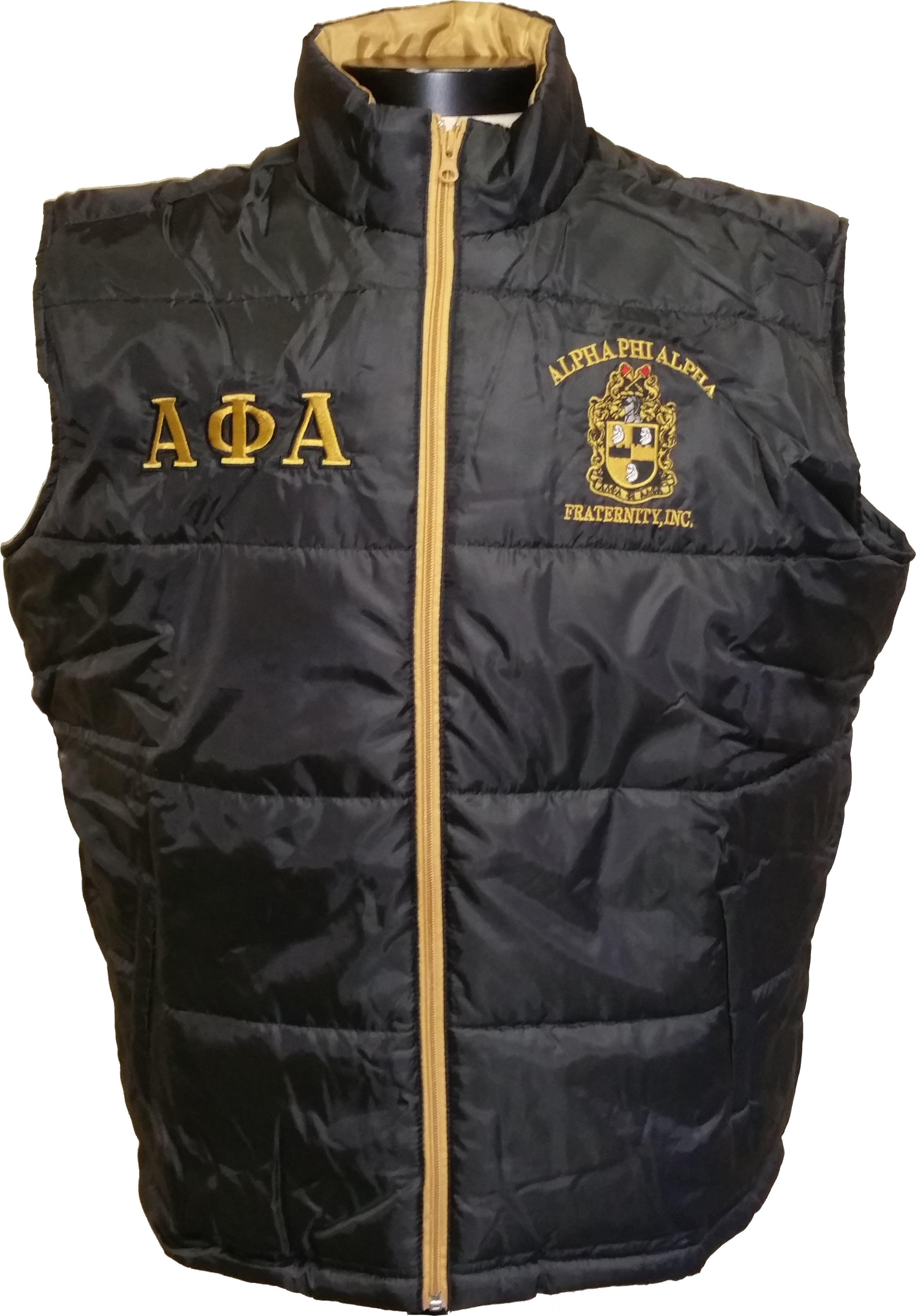 Buffalo Dallas Alpha Phi Alpha Mens Vest [Sleeveless - Black - XL]