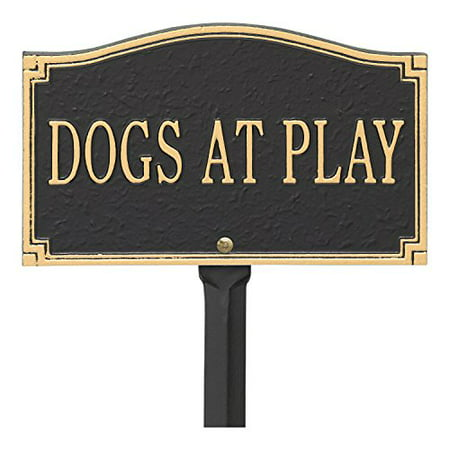 Whitehall Dogs At Play - Wall/Lawn Sign