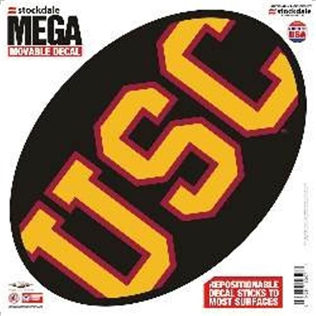 USC Trojans Decal - 12''x12'' Mega