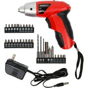 Stalwart 25-piece 4.8-Volt Cordless Screwdriver with LED Light