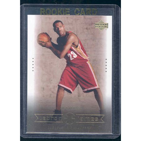 2003 Upper Deck #14 On Parade Lebron James Cavaliers NBA Rookie Card (Lebron James Halloween Mask)
