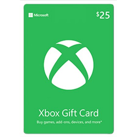 Xbox $25 Gift Card, Microsoft, [Digital Download] (Best Place To Sell Gift Cards In Person)
