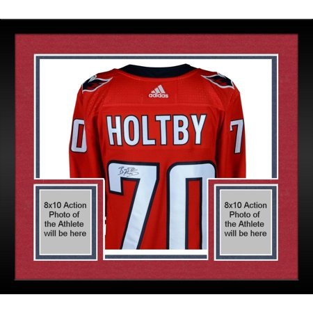 reputable site 0ff3d 325a4 Framed Braden Holtby Washington Capitals 2018 Stanley Cup Champions  Autographed Red Adidas Authentic Jersey with 2018 Stanley Cup Final Patch -  ...