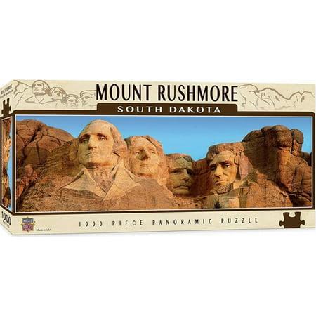 MasterPieces American Vistas - Mount Rushmore 1000pc Panoramic Puzzle ()