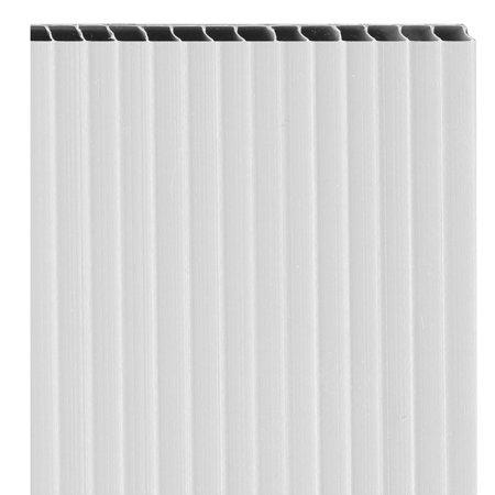 Coroplast Corrugated Sheets White Walmart Com