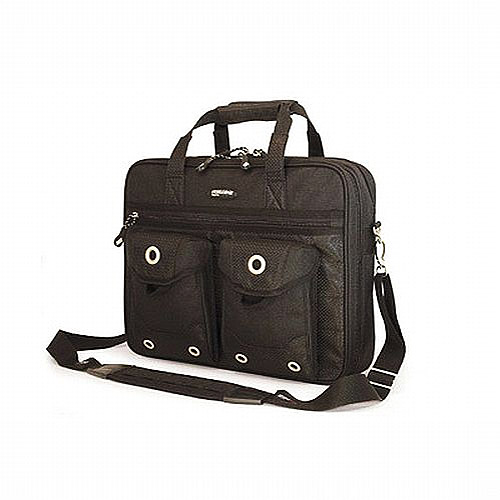 "Mobile Edge Meebc1 The Edge Briefcase For 15.4"" - 17"" Mac (black)"