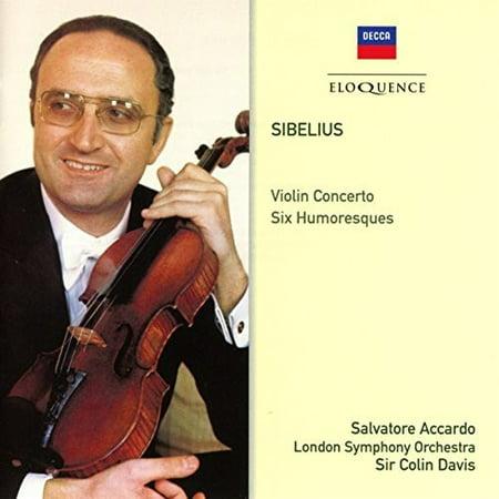 Sibelius: Violin Concerto / Six Humoresques (CD)