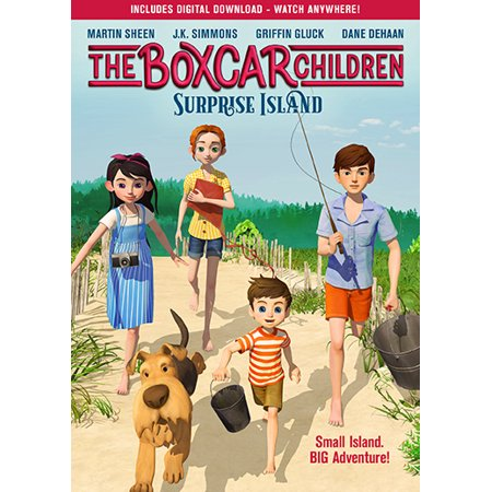 The Boxcar Children: Surprise Island (DVD) - Family Halloween Events Long Island